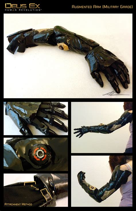 cosplay props 7 augmented arm by nanaga on deviantart