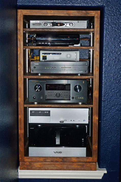 media room equipment rack component management av