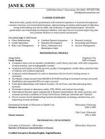 credit analyst cover letter credit analyst resume sle http resumesdesign