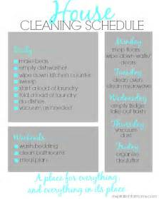 how to keep a clean house schedule house cleaning schedule inspiration for moms