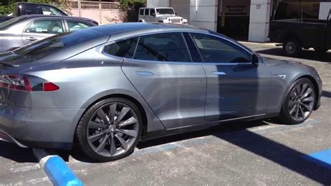 Used Tesla Los Angeles Tesla Model S After Window Tint Specialists Los Angeles
