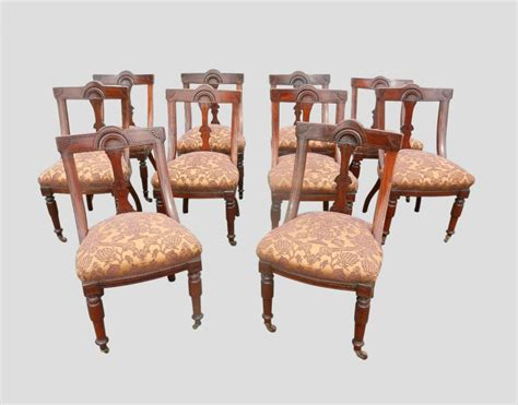 Antique Dining Chairs Uk Antique Furniture Warehouse Antique Dining Chair Sets Set 10 Mahogany Spoon Back