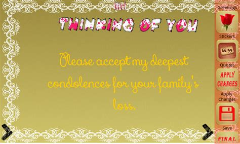 Funeral Greeting Card Template by Sympathy Greeting E Cards Android Apps On Play
