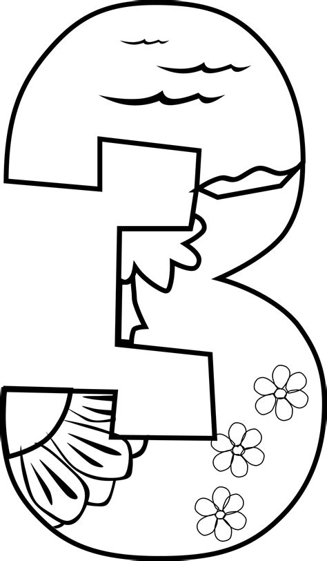Creation Coloring Pages Day 1 by Clipart Creation Day 3 Coloring Page