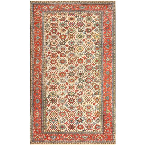 colorful rugs for sale large colorful antique serapi rug for sale at 1stdibs