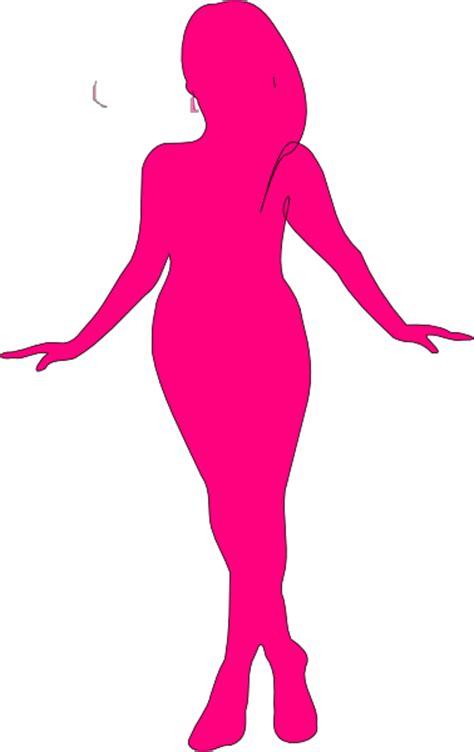 Curvy Woman Silhouette Clip Art at Clker.com   vector clip art online, royalty free & public domain