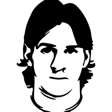 Kaos Premium Messi Logo Black lionel messi free icons