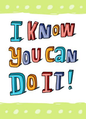you can do it clipart i you can do it card cardstore