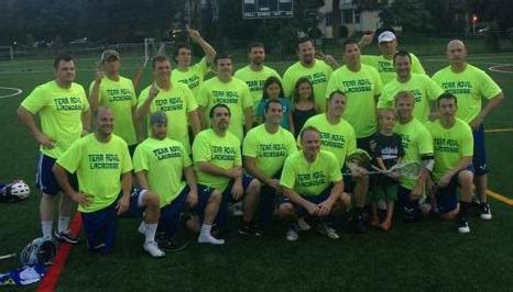 Mba Summer League Lacrosse by Team Advil Claims Master S Division Chionship Of Summer