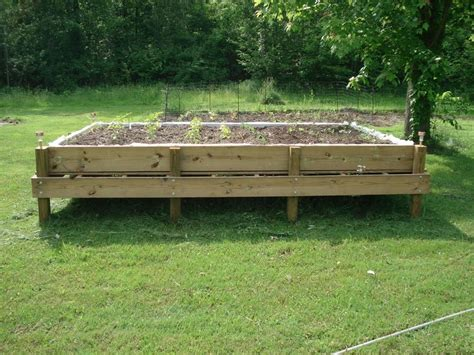 diy pallet garden bed diy raised bed pallet garden for the home