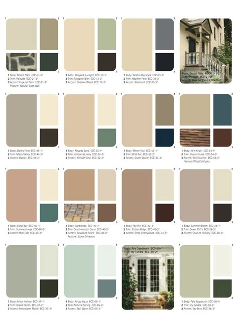 25 best exterior paint schemes ideas on