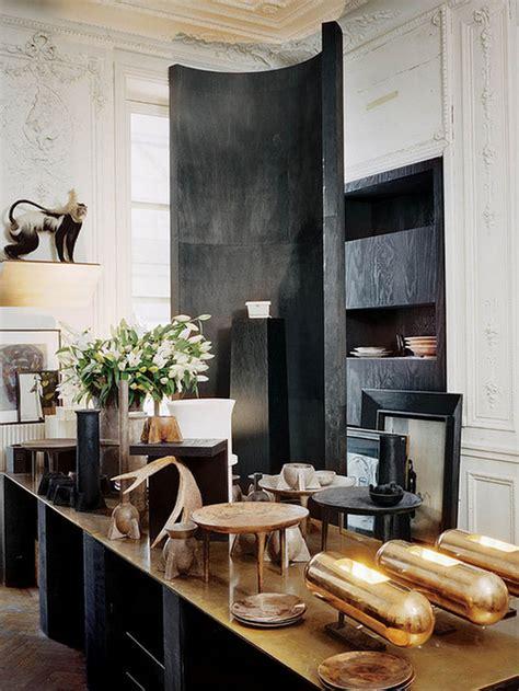 home design inspiration blogs monday edit fashion designer rick owens paris apartment