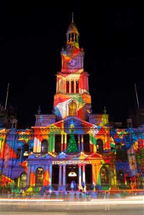 christmas traditions in australia facts in australia colorful lights watering meals