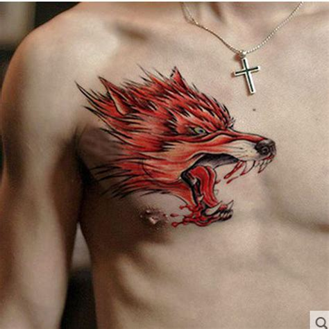 temporary body tattoos for men 29 henna chest for makedes