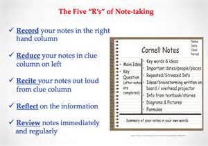 note taking tips the learning commons elginparksecondary