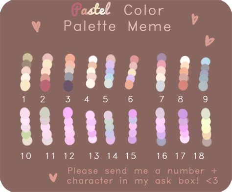 color challenge pastel color palette challenge