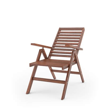 ikea reclining chair free 3d models ikea applaro outdoor furniture series