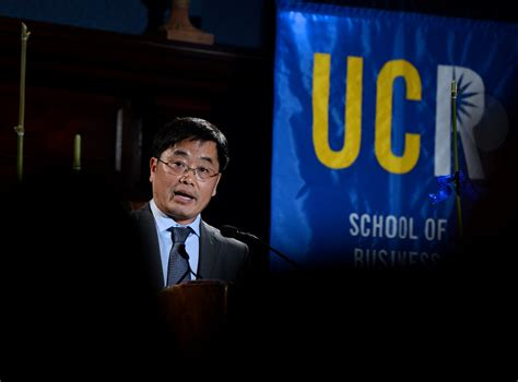 Ucr Business Mba by Ucr Today Yunzeng Wang