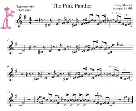 tutorial piano pink panther 25 best ideas about piano sheet on pinterest piano