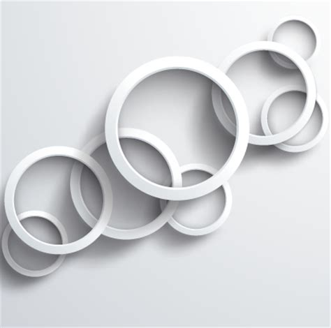 white design white circle background design vector 04 vector background free