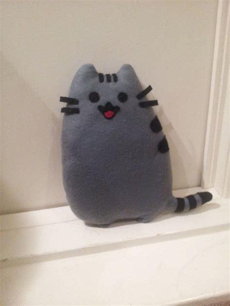 katniss pusheen  cat plushie sewing  hand sewing