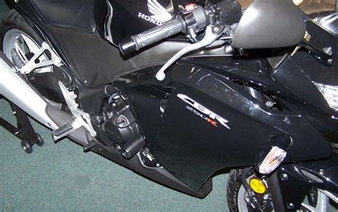 Frame Slider Honda Cbr 250 shogun honda cbr250r no cut frame sliders fits 2011 2013