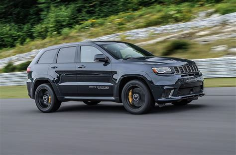 trackhawk jeep black jeep grand trackhawk 2018 review autocar