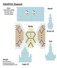 3d origami squirtle tutorial squirtle em diagrama de origami 3d origami pinterest