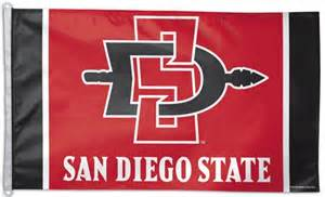 san diego state colors san diego state items crw flags store in glen