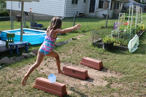 obstacle course backyard pencils proverbs pandemonium pins backyard obstacle