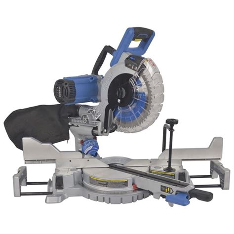 Kobalt 10 In 15 Amp Dual Bevel Sliding Compound Mitre Saw