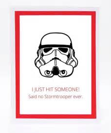 illustrated stormtrooper birthday card - Stormtrooper Birthday Card