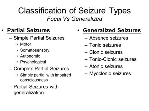 focal motor seizure symptoms generalized motor seizure impremedia net