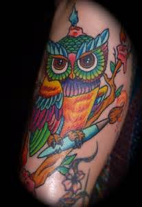 anthony neo traditional owl by queenannesrevenge777 on