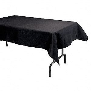 can you put a rectangle tablecloth on a table 96 quot x 52 quot rectangle visa 169 tablecloth black pk1