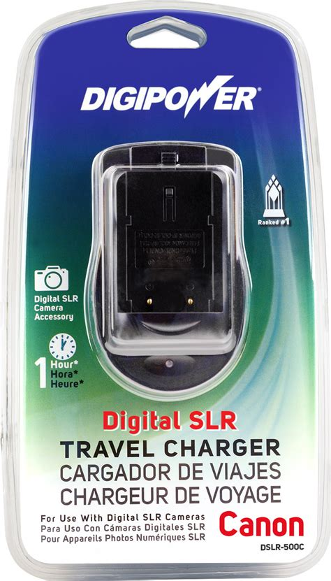 Charger Kamera Dslr Canon dslr travel charger for canon replacement batteries