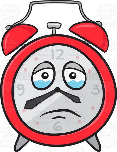 sad light alarm clock sad looking alarm clock about to cry emoji clipart by