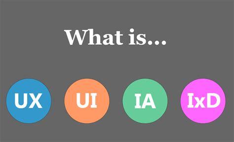 design lingo meaning ux vs ui vs ia vs ixd 4 confusing digital design terms
