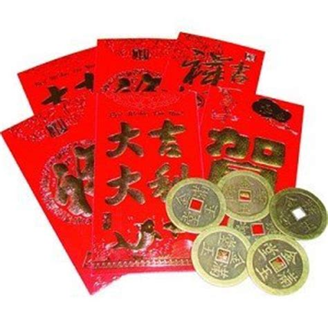 new year coin envelopes lucky money envelopes with coins set of