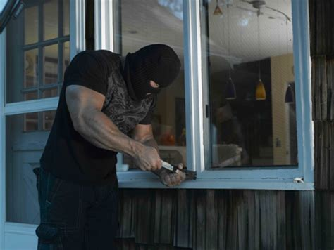how to break a house window types of criminals most likely to enter your home while you are in it