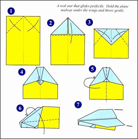 Paper Airplane Templates Printable