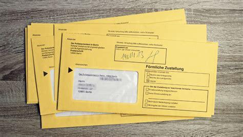 Post Schweiz Brief Verloren strafzettel nicht bezahlt bu 223 geld bis knast