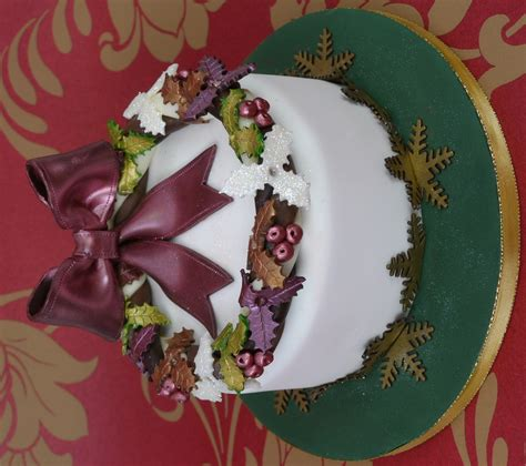 traditional christmas cake paul bradford sugarcraft school