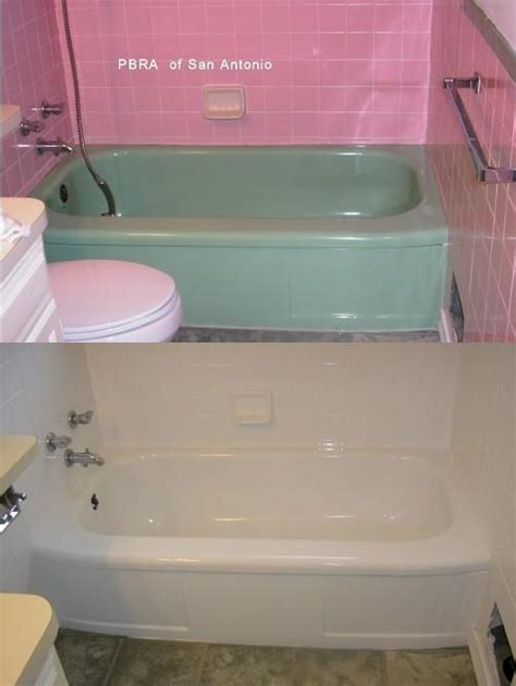 bathtub refinishing san jose san antonio bathtub refinishing p b r a professional