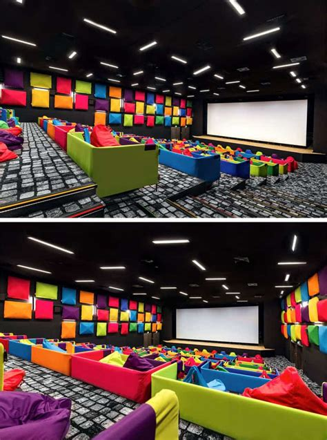 fun colorful cinema  slovakia