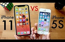 Image result for iPhone 5S vs 11. Size: 250 x 160. Source: www.youtube.com