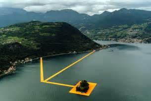 floating piers the floating piers lake iseo italy the neo trad