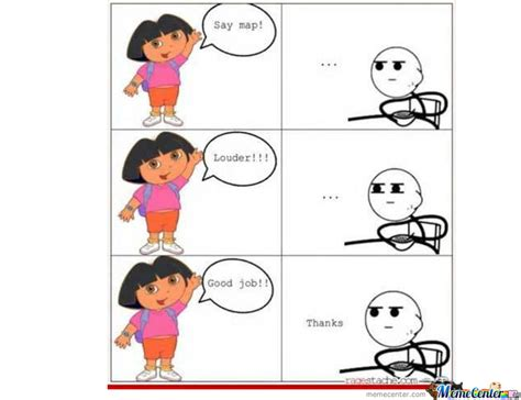 Memes Dora Explorer - dora the explorer by hamza9 meme center