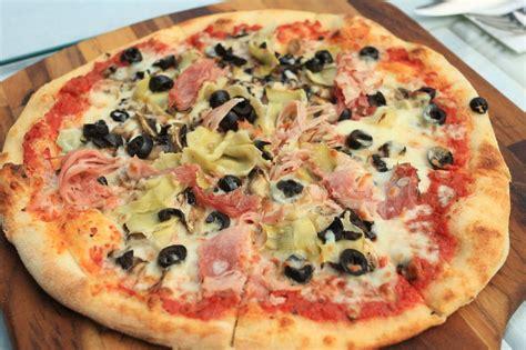pizza capricciosa with wholemeal silvio cicchi