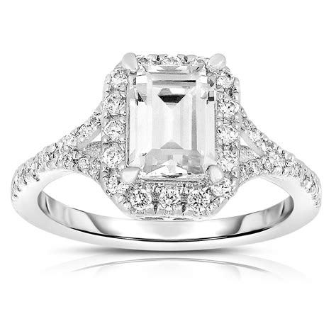 Silver Ring With Cubic Zirconia P 1009 flawless cubic sterling silver square cut cubic zirconia ring megan walford